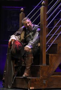 Luca Barbareschi in Cyrano - Foto di Bepi Caroli DSC_0448 Media OK